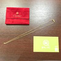 【モノカウ】カルティエ(Cartier)リンクスレーブ ネックレス K18YG 18金イエローゴールド