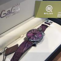 GaGa MILANO ガガミラノ マヌアーレスリム Ref.5084.5 腕時計