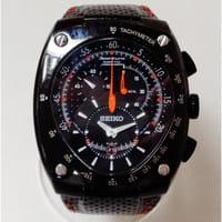 セイコー スポーチュラ 7L22-0AD0 キネティック クロノグラフ 腕時計