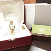 【モノカウ】カルティエ(Cartier)ベニュワール イエローゴールド レディース 腕時計 型番:W1506056