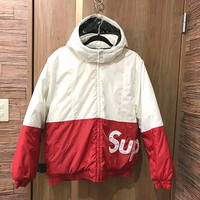【モノカウ】シュプリーム(Supreme)16AW Sideline Side Logo Parka サイドライン サイドロゴ ブルゾン ジャケット パーカー