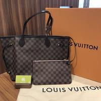 LOUIS VUITTON ルイヴィトン ダミエ ローズバレリーヌ ネヴァーフルMM 型番N41605