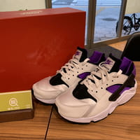 ナイキ(NIKE)NIKE AIR HUARACHE RUN 91 QS AH8049-001 エアハラチ