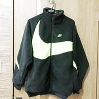 【モノカウ】ナイキ(NIKE)19ss AS M NSW VW SWSH FULL ZIP JKT XLサイズ BQ6546-017 BLACK/VOLT サイズM