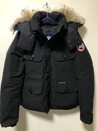【モノカウ】カナダグース(CANADA GOOSE)RUSSELL ラッセル メンズ ダウンジャケット 黒 サイズ:S 型番:2301JM