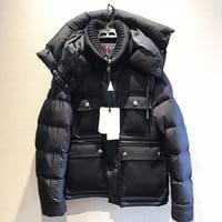 【モノカウ】モンクレール(MONCLER)RILLIEUX (リリュー) 黒 サイズ:2 型番:53227 メンズ ダウンジャケット
