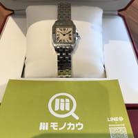 Cartier カルティエ サントスドゥモワゼルSM レディース 腕時計 Ref.W25064Z5