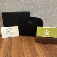 プラダ(PRADA)ナイロン コンパクト 財布 型番:M522