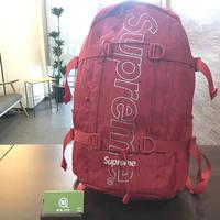 【モノカウ】シュプリーム(Supreme)18FW Backpack バックパック リュック 赤