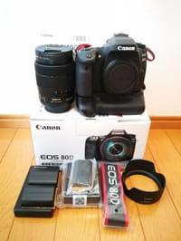 カメラ CANON EOS80D EF-S18-135mmレンズキット