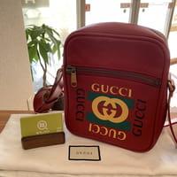 グッチ(GUCCI)プリントメッセンジャーバッグ 型番:523591