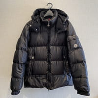 モンクレール(MONCLER)BAZILLE バジーレ ダウンジャケット サイズ:1 黒 国内正規品